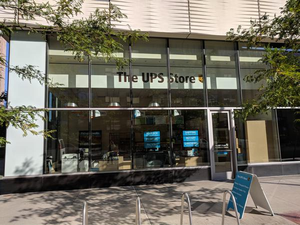 Facade of The UPS Store Cleveland
