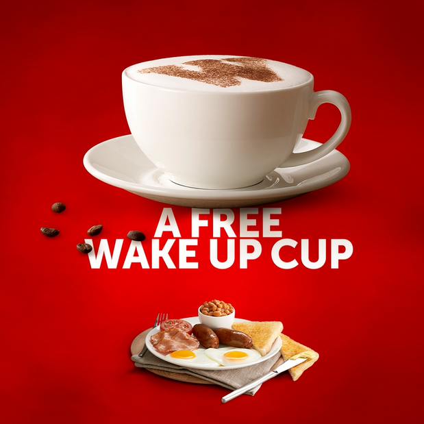 Image of Great Wimpy Breakfast With Free Hot Drink Deal
