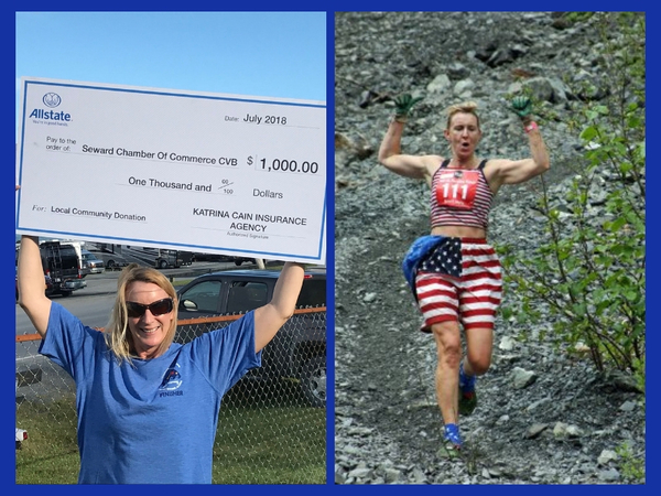 Katrina J. Cain - Proud Sponsor of Mount Marathon Race