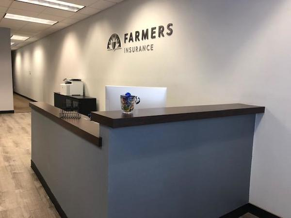 Farmers office front desk