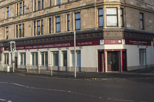T & R O'Brien Funeral Directors in Glasgow