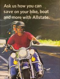 "Just one of the many ""rides"" we protect.  We can also insure your boat, other watercraft, ATV, RV, even that high-value bicycle."