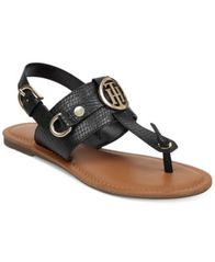 Image of Tommy Hilfiger Luvee Flat Sandals