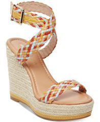 Image of Madden Girl Narla Woven Platform Wedge Sandals