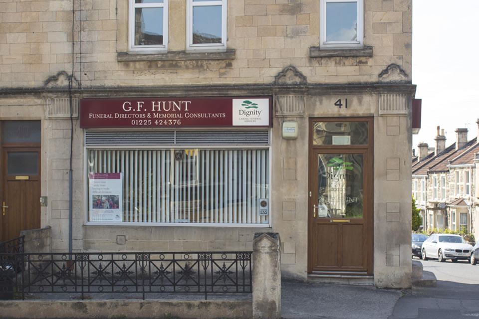 G F Hunt Funeral Directors in Bath, Somerset.