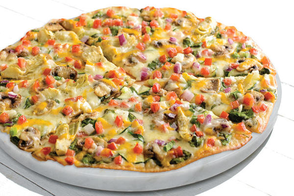 Gourmet Vegetarian Pizza