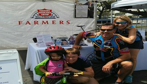 My Farmers® booth from the 6th Annual Children's Bike Safety & Health Expo event