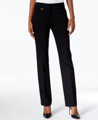 Image of JM Collection Curvy-Fit Slim-Leg Pants, Created for Macy's