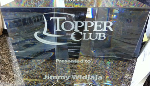 Topper Club Trophy!