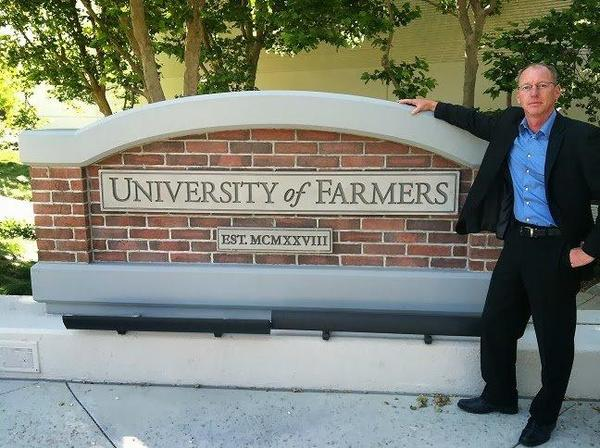 Graduate from the University of Farmers