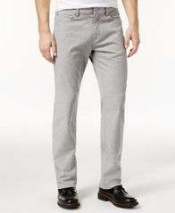 Image of Alfani Men's Straight-Fit Gray Wash Jeans, Created for Macy's