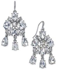 Image of Charter Club Silver-Tone Drop Earrings, Created for Macy's