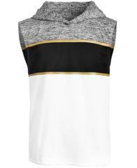 Image of Ideology Big Boys Colorblocked Sleeveless Hoodie, Created for Macy's