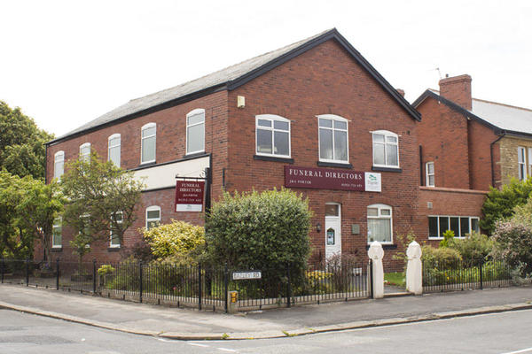 J & A Porter Funeral Directors in Ansdell, Lytham St Annes, Lancashire.