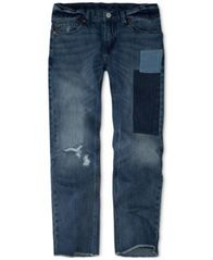 Image of Levi's® Little Boys 511™ Slim-Fit Warp Stretch Patches Jeans