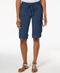 Image of Style & Co Drawstring Cargo Shorts, Created for Macy's