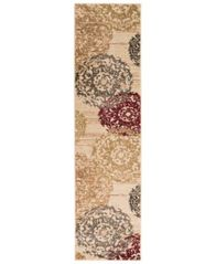 "Image of Surya Riley RLY-5051 Butter 2' x 7'5"" Runner Area Rug"