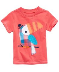 Image of First Impressions Graphic-Print Cotton T-Shirt, Baby Boys, Created for Macy's
