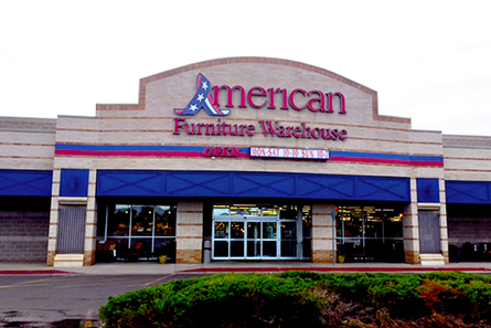 American Furniture Warehouse At 5390 South Wadsworth Blvd Lakewood Co