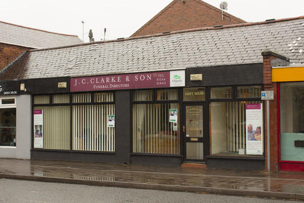 J C Clarke & Son Funeral Directors in Chester.