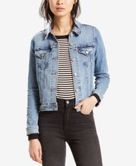 Image of Levi's® Original Denim Trucker Jacket, Created for Macy's