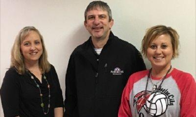 JCHS Educators Mrs. McBride and Mrs. Will. I donated $200 worth of supplies for classrooms for Jan.