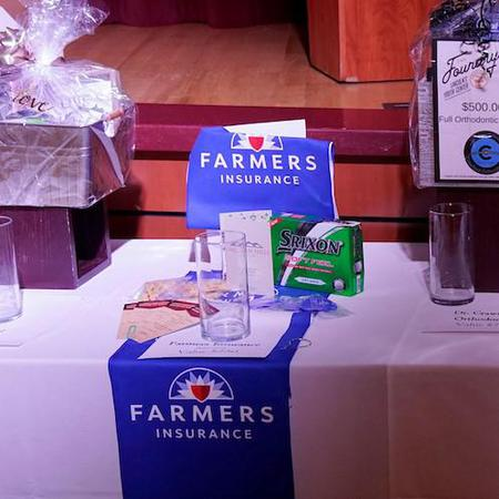 Farmers Insurance prize package