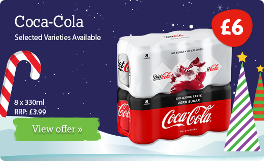 Coca Cola offer available until 31st December