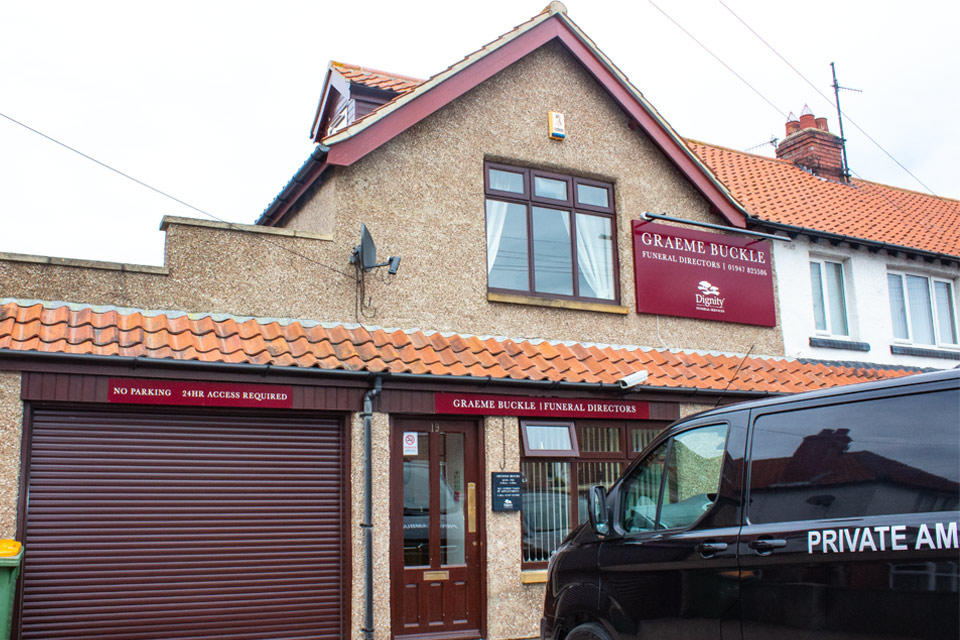 Graeme Buckle Funeral Directors in Whitby