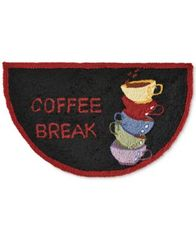 "Image of Nourison Coffee Break 1'7"" x 2'8"" Kitchen Rug"