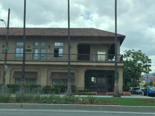 Office at corner of Brand Blvd and Coronel St. in San Fernando, Ca.