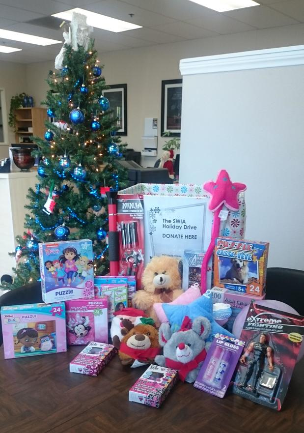 The Sam Williamson Insurance Holiday Drive; Women's Resource Center of Oceanside<br>