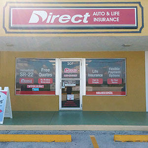 Front of Direct Auto store at 207 US Highway 27 South, Sebring