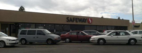 Safeway store front picture of 1112 S M St in Tacoma WA