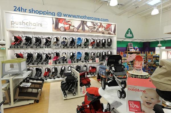 Mothercare Huddersfield pushchairs