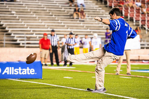 Tyler Elliott - Allstate Field Goal Net Challenge at Jacksonville State University