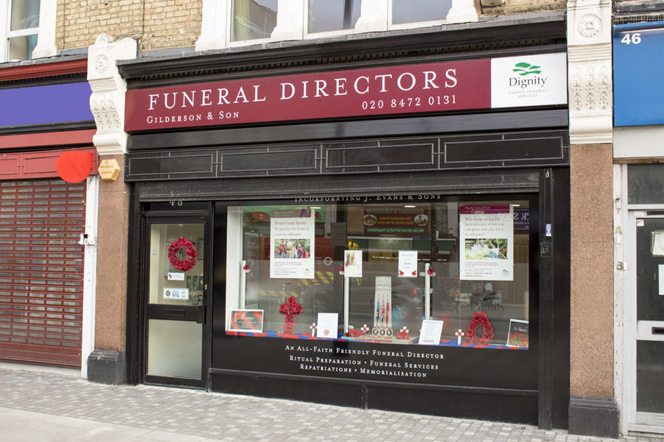 Gilderson & Sons Funeral Directors in Forest Gate