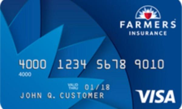 Photo of a Farmers Visa Card