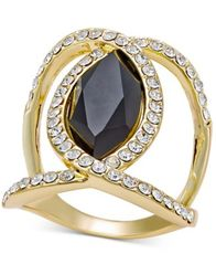 Image of INC International Concepts Pavé Crystal Statement Ring, Created for Macy's