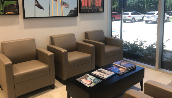 Members Choice Credit Union Katy Freeway Branch Lobby View