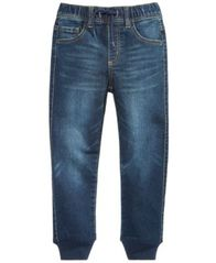 Image of Epic Threads Knit Denim Jogger Pants, Little Boys, Created for Macy's
