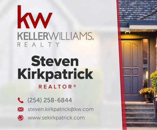 Steven Kirkpatrick is a real estate agent in the central texas areal.