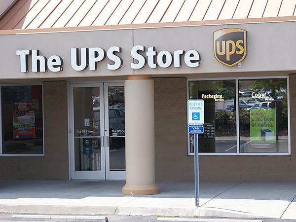 Facade of The UPS Store Lenoir City