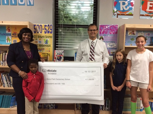 Kevin Shealy - Allstate Good Hands Grant for Stono Park Elementary