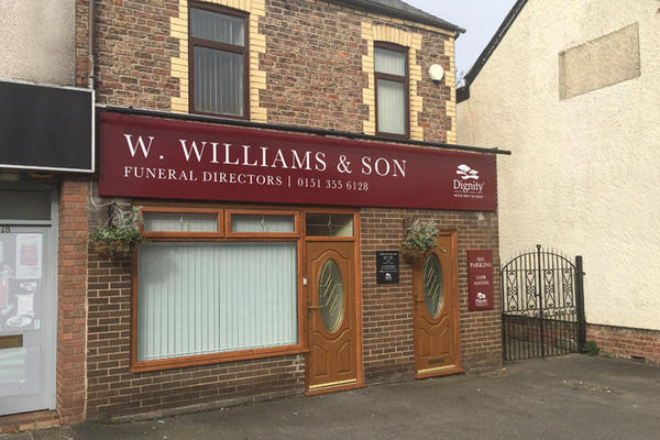 W Williams & Son Funeral Directors in Ellesmere Port, Cheshire