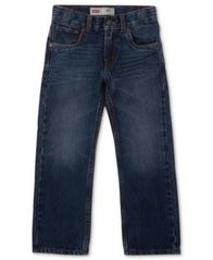 Image of Levi's® 505™ Regular Fit Jeans, Little Boys