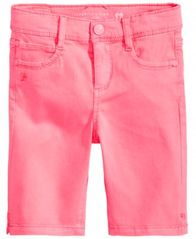 Image of Celebrity Pink Twill Bermuda Shorts, Little Girls