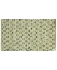 "Image of Bacova Marion Cotton Denim Tiles 27"" x 45"" Rug"