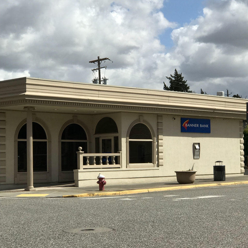 Banner Bank branch in Waitsburg, Washington