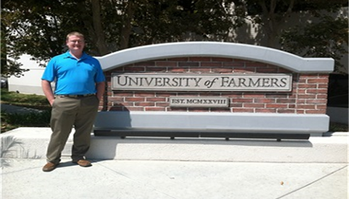 This is me at the University Of Farmers®!